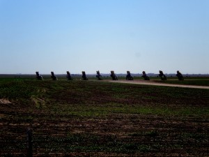 Cadillac Ranch, 2009